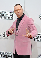 LOS ANGELES, CA - NOVEMBER 20: Donnie Wahlberg at the 44th Annual American Music Awards at the Microsoft Theatre in Los Angeles, California on November 20, 2016. Credit: Koi Sojer/Snap'N U Photos/MediaPunch