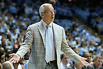 22 December 2012: UNC head coach Roy Williams. The University of North Carolina Tar Heels played the McNeese State University Cowboys at the Dean E. Smith Center in Chapel Hill, North Carolina in an NCAA Division I Men's college basketball game. UNC won the game 97-63.