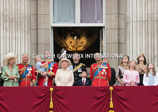 13.06.2015;London, UK: PRINCE GEORGE JOINS THE ROYALS<br />