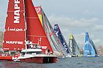 2014 - VOLVO OCEAN RACE DEPARTURE - ALICANTE - SPAIN