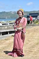 Courtney-Lee Butcher, Petone Settlers 175th Anniversary on the Petone Foreshore, Lower Hutt, New Zealand on Sunday 19 January 2015. <br /> Photo by Masanori Udagawa.<br /> www.photowellington.photoshelter.com.