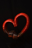 Stock photo of Heart Sculpture