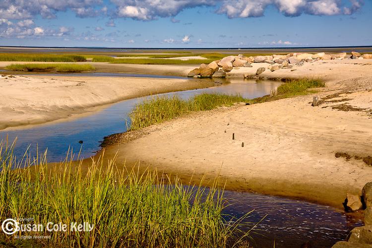 Paines Creek Beach in Brewster, Cape Cod, MA, USA