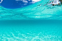 Crystal clear ocean water.Trunk Bay.Virgin Islands National Park Clear turquoise Caribbean water<br /> Trunk Bay<br /> U.S. Virgin Islands