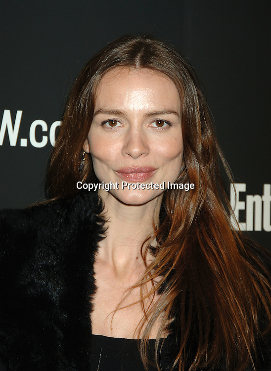 Safron Burrows ..arriving at The 12th Annual Entertainment Weekly Oscar Party on March 5, 2006 at Elaine's. ..Robin Platzer, Twin Images