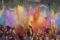 The Color Run, Tacoma Stock Photos