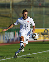 Steve Cherundolo of USA....Football - International Friendly - USA v Australia - Ruimsig Stadium