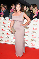 Candice Brown at the National TV Awards 2017 held at the O2 Arena, Greenwich, London. <br /> 25th January  2017<br /> Picture: Steve Vas/Featureflash/SilverHub 0208 004 5359 sales@silverhubmedia.com