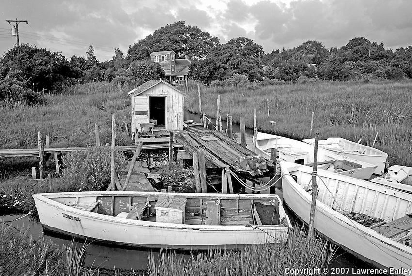 Skiffs And House Lawrence Earley Photography