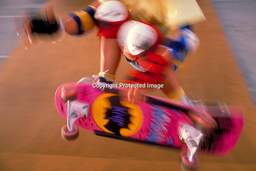 Skateboarder, Anaheim, CA.Photo by Chris Covatta