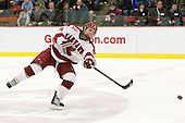 Luke Greiner (Harvard - 24) - The Harvard University Crimson defeated the visiting Colgate University Raiders 6-2 (2 EN) on Friday, January 28, 2011, at Bright Hockey Center in Cambridge, Massachusetts.