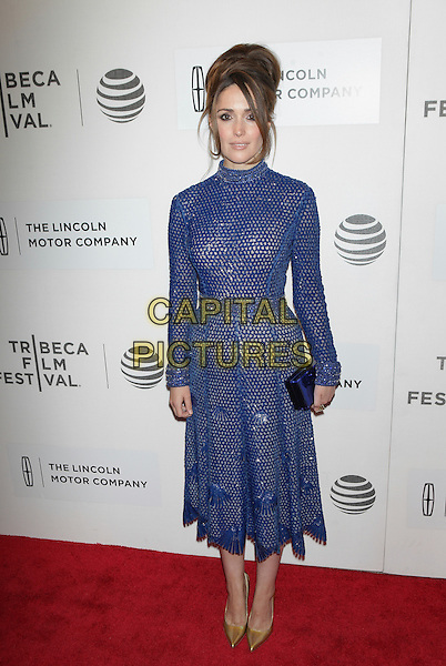 NEW YORK, NEW YORK - APRIL 19: Rose Byrne at the US Premiere of The Meddler during the 2016 Tribeca Film Festival at BMCC on April 19, 2016 in New York City. <br /> CAP/MPI99<br /> &copy;MPI99/Capital Pictures