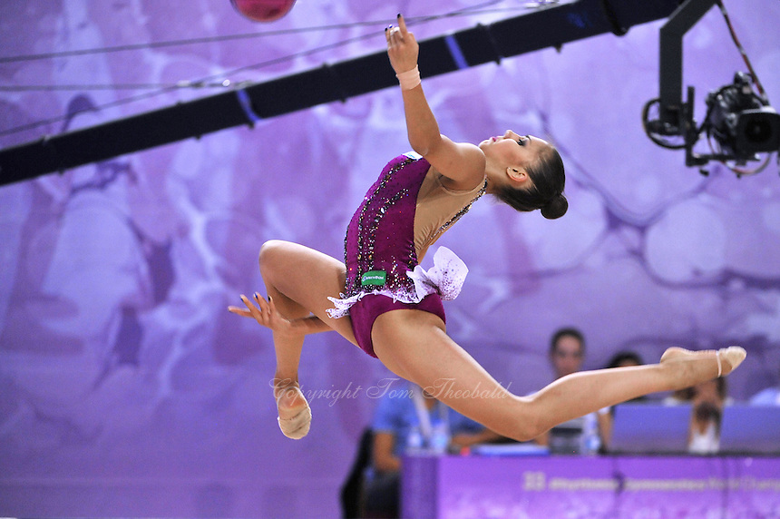 September 22, 2014 - Izmir, Turkey - RITA MAMUN of Russia performs at 2014 World Championships.