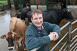 08/11/2013 Dairy farmer Philip Cotterrell (a supplier to Arla) of Warren Farm in Masbury, Wells, Somerset, has been shortlisted for a Tesco Sustainable Dairy Group competition.