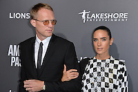 BEVERLY HILLS, CA. October 13, 2016: Jennifer Connelly &amp; Paul Bettany at the Los Angeles premiere of &quot;American Pastoral&quot; at The Academy's Samuel Goldwyn Theatre.<br /> Picture: Paul Smith/Featureflash/SilverHub 0208 004 5359/ 07711 972644 Editors@silverhubmedia.com
