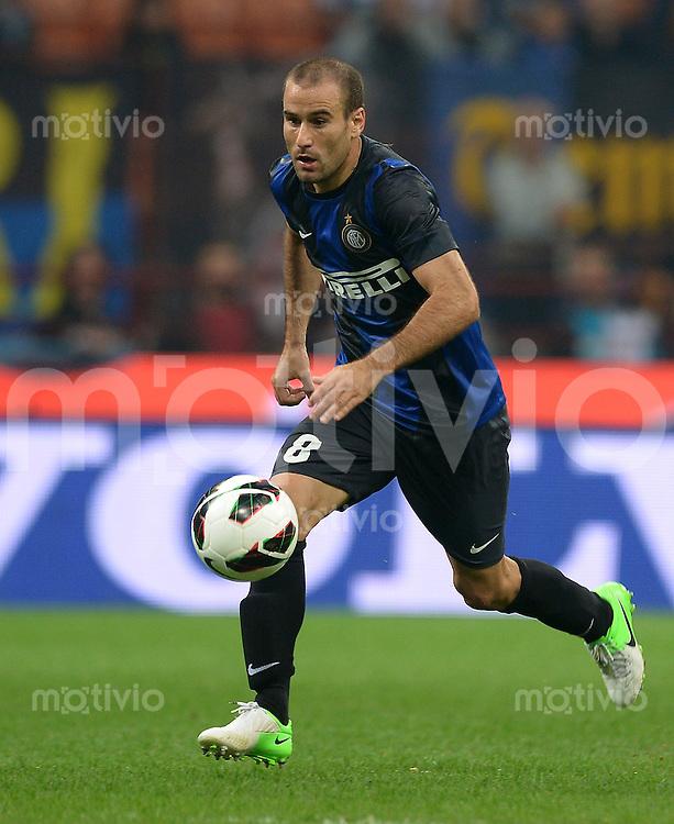 FUSSBALL INTERNATIONAL   SERIE A   SAISON 2012/2013    Europa League: Inter Mailand - FC Vaslui  30.08.2012 Rodrigo Palacio (Inter Mailand)