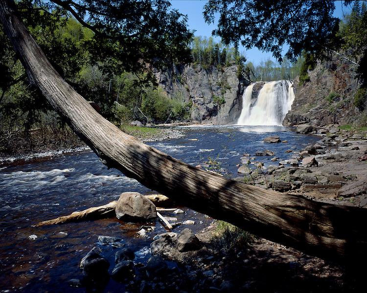 High Falls of the Baptism River, Tettegouche State Park, Minnesota, June, 1988