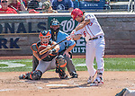 7 August 2016: Washington Nationals infielder Anthony Rendon in action against the San Francisco Giants at Nationals Park in Washington, DC. The Nationals shut out the Giants 1-0 to take the rubber match of their 3-game series. Mandatory Credit: Ed Wolfstein Photo *** RAW (NEF) Image File Available ***