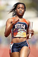 SAN ANTONIO, TX - MARCH 15, 2008: UTSA Relays Track & Field Meet - Day 2 at Jerry Comalander Stadium. (Photo by Jeff Huehn)