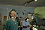 Zimbabwe, Howard Hospital. May 2010. Theatre. Paul worked on a woman needing a c-section (and requested sterilisation which was not performed due to unsigned consent form ), a man needing his elbow sutured, a woman who required a biopsy and likely had calites, something Thistle had not seen before)  and Tinashe CHIVERA, seven years old, who needed a skin graft (the boy who fell off the scotch cart and this time will get painkillers.)