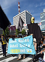 Anti-Annual Meeting of International Monetary Fund and the World Bank Demo