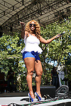 Mil'sa Morgan Performs at WBLS 5th Annual R&B Fest at Central Park SummerStage, NY