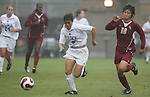 Duke's Rachel-Rose Cohen (9) is chased by Florida State's Mami Yamaguchi (18) on Sunday, October 22nd, 2006 at Koskinen Stadium in Durham, North Carolina. The Duke Blue Devils defeated the Florida State University Seminoles 3-1 in an Atlantic Coast Conference NCAA Division I Women's Soccer game.