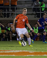 The number 24 ranked Furman Paladins took on the number 20 ranked Clemson Tigers in an inter-conference game at Clemson's Riggs Field.  Furman defeated Clemson 2-1.  TJ Casner (10)
