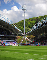 A general view of John Smith's Stadium, home of Huddersfield Town<br /> <br /> Photographer Andrew Vaughan/CameraSport<br /> <br /> The EFL Sky Bet Championship Play-Off Semi Final First Leg - Huddersfield Town v Sheffield Wednesday - Saturday 13th May 2017 - The John Smith's Stadium - Huddersfield<br /> <br /> World Copyright &copy; 2017 CameraSport. All rights reserved. 43 Linden Ave. Countesthorpe. Leicester. England. LE8 5PG - Tel: +44 (0) 116 277 4147 - admin@camerasport.com - www.camerasport.com