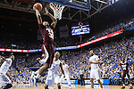 Craig Sword Miss. St. Guard, goes up for 2 at Rupp Arena in Lexington, Ky. on Tuesday, January 12, 2016. Photo by Josh Mott | Staff.