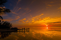 Sunset, Key Largo, Florida Keys, Florida USA