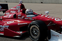20-21 Febuary, 2012 Birmingham, Alabama USA.Scott Dixon on pit lane.(c)2012 Scott LePage  LAT Photo USA