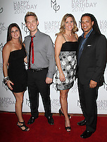 Dax holt charles latibeaudiere amp guests at the matt goss surprise