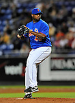 5 March 2012: New York Mets pitcher Frank Francisco in action during a Spring Training game against the Washington Nationals at Digital Domain Park in Port St. Lucie, Florida. The Nationals defeated the Mets 3-1 in Grapefruit League play. Mandatory Credit: Ed Wolfstein Photo