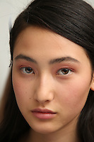 OCT 01 ANDREW GN backstage at Paris Fashion Week