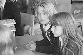 In class,Whitworth Comprehensive School, Whitworth, Lancashire.  1970.