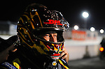 Jan. 16, 2012; Jupiter, FL, USA: NHRA funny car driver Jeff Arend during testing at the PRO Winter Warmup at Palm Beach International Raceway. Mandatory Credit: Mark J. Rebilas-