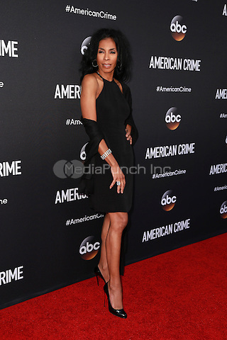LOS ANGELES, CA - FEBRUARY 28: Khandi Alexander at the American Crime Premiere at the Ace Hotel in Los Angeles, California on February 28, 2015. Credit: David Edwards/DailyCeleb/MediaPunch