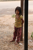 Siem Reap, Cambodia - 2007 File Photo -<br /> <br />  Cambodian young girl. <br /> <br /> <br /> photo : James Wong-  Images Distribution