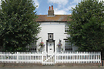 Chalk nr Gravesend Kent. The cottage Charles Dickens spent his honeymoon with his new bride Catherine Hogarth here. And it was here that he wrote the early installments of Pickwick Papers.