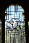 Window of Sain Martin in the Fields church, London, England, United Kingdom