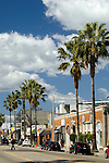 Abbot Kinney has become a hip shopping district in Venice, California