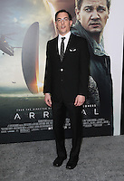 "Westwood, CA - NOVEMBER 06: Eric Heisserer at Premiere Of Paramount Pictures' ""Arrival"" At Regency Village Theatre, California on November 06, 2016. Credit: Faye Sadou/MediaPunch"