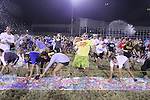The Christian Student Fellowship put on a water balloon fight as a part of KWeek, breaking the world record for the world's largest water balloon fight on Saturday, August 27, 2011, just after midnight, in Lexington, Kentucky. Photo by Latara Appleby | Staff