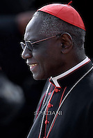 Cardinal Robert Sarah,Pope Francis  during his weekly general audience in St. Peter square at the Vatican, Wednesday.September 30, 2015.