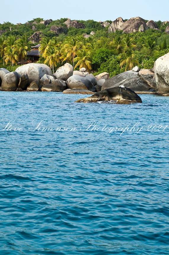 Big Trunk Bay from the water , Virgin Gorda