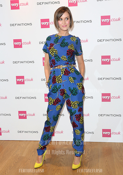 Katherine Kelly at the Launch party for Very.co.uk introducing the new fashion brand Definitions at Somerset House<br /> London. 04/09/2013 Picture by: Henry Harris / Featureflash