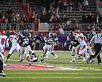 Ole Miss running back Enrique Davis (27) runs vs. Louisiana-Lafayette in Oxford, Miss. on Saturday, November 6, 2010. Ole Miss won 43-21.