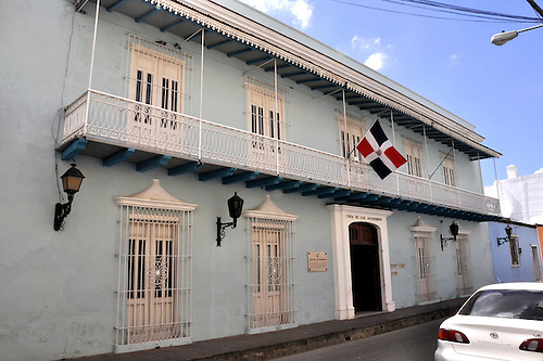 Local donde opera la Academia Dominicana de la Historia