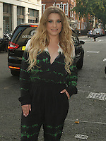 Ella Henderson arrives at Radio 1 Live Lounge 22 September 2014